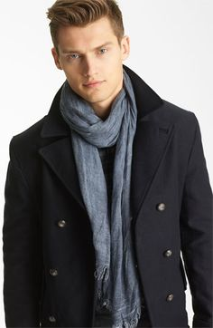 John Varvatos Antique Dye Scarf available at #Nordstrom