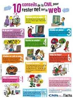 Les 10 conseils-clés de la CNIL pour rester net sur le Web