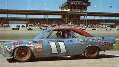 Nascar Race Cars, Old Race Cars, Us Cars, Nascar Wheels, Cars Usa, Mario Andretti, Ford Galaxie, Le Mans, Daytona 500 Winners