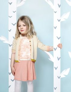 Jurkje Belle Plante - Blune online - Baby Kids & Teens kinderkleding webshop Goldfish