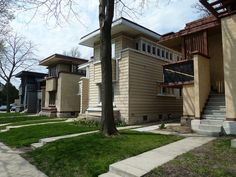 Frank Lloyd Wright American System Homes - Milwaukee