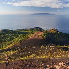 Ruta de los volcanes, La Palma - Islas Canarias