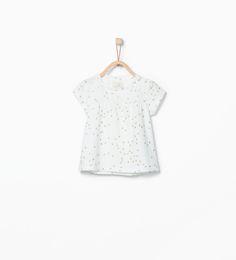 ZARA - KIDS - Polka dot print T-shirt