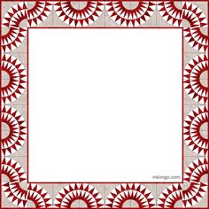 Border Ideas---All About Inklingo » Blog Archive » Playing with New York Beauty Quilt Borders