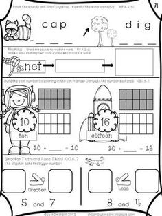 math worksheet : first grade morning work 1  morning work language arts and first  : Daily Math Practice Worksheets