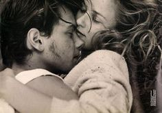 River Phoenix & Suzanne Solgot, photographed at his home in Florida by Bruce Weber.