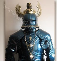 Blued gothic full plate armor 15ct