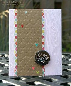 Created by Sarah for the Simon Says Stamp August 2013 Card Kit Blog Hop.
