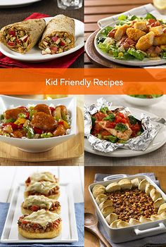 Easy meals the kids will like on those hectic nights between dance lessons and soccer practice