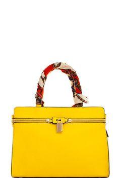 It's Always Sunny Yellow Satchel Handbag