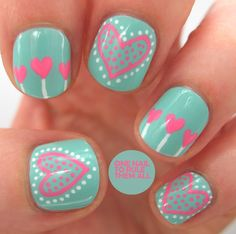 Easy Short Nail Designs for Kids Polka Dots Elegant 32 Valentine S Day Nail Art . - Easy Short Nail Designs for Kids Polka Dots Elegant 32 Valentine S Day Nail Art Ideas that Will Put You In the Mood for day nails easy polka dots - Love Nails, Pink Nails, Pretty Nails, Color Nails, Pastel Nails, White Nails, Heart Nail Designs, Cute Nail Art Designs, Nail Designs For Kids