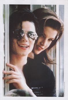 Michael Jackson with Lisa Marie Presley, via Flickr.