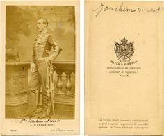 Joachim 4th Prince Murat (1834-1901) was one of the five children of Prince Lucien Charles Joseph Napoléon Murat (1803-1878) and Caroline Georgina Frazer (1810-1879).