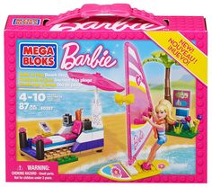 Black Friday 2014 Mega Bloks Barbie Beach Day from Mega Bloks Cyber Monday. Black Friday specials on the season most-wanted Christmas gifts. Mega Blocks, Shop Lego, Barbie Playsets, Made To Move Barbie, Bloom Winx Club, Black Friday Specials, Toys For Girls, Girl Toys, Game Sales