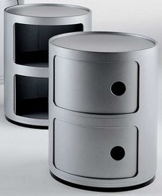 Shop the Kartell Componibili Round Storage Tower by Kartell at A practical storage solution for any home. Amsterdam, Shops, Modular Storage, Space Saving Storage, Unique Words, Door Storage, Museum Of Modern Art, Storage Solutions, Modern Furniture