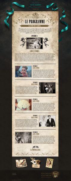 Web Projects 2010-2011 by Alexandre Efimov, via Behance