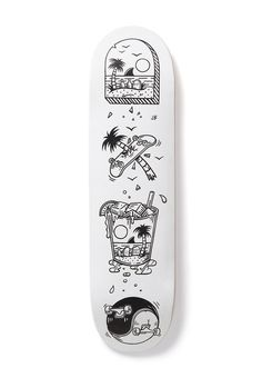 Would buy so hard. Perfect deck for my Gracias Skate Shop spitfire wheels I snagged while in San Juan.   jamiebrowneart #skateboard
