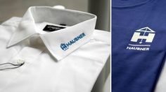 embroidered or printed logo on shirts – Hauber Cufflinks, Printed, Logos, Shirts, Shirt, Dress Shirts, Wedding Cufflinks, Dress Shirt, Logo