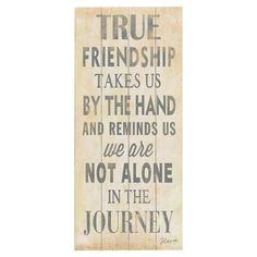 True Friendship Sign