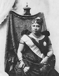 Queen Lili'uokalani of Hawaii