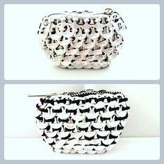 Pop tabs coin purse Solene M, now 2 colors available for your choice! @www.emoi-france.fr Porte monnaie en capsule de canettes Solene M, disponible désormais en 2 couleurs au choix! @www.emoi-france.fr