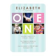 Fun One Custom Personalized Birthday Party Invitations 1st Parties