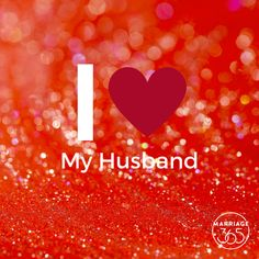 I love my husband... a lot!