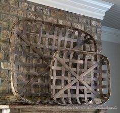 Tobacco Baskets - -Fixer Upper Style - ET Tobey & Company