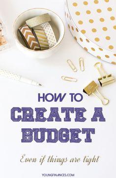 creating a single mom budget