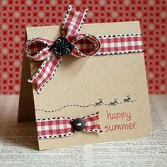 cute Happy Summer card