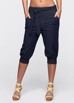 Damen Capri Jeans, 98125 in Dark Denim in Kleidung & Accessoires, Damenmode, Jeans | eBay
