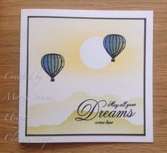 Medium Balloon clarity stamps
