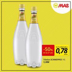 Llévate una 2ª botella de Schweppes a mitad de precio! #Oferta #GinLovers