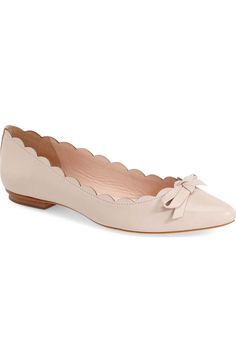 Main Image - kate spade new york 'eleni' pointy toe ballet flat (Women)