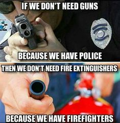 The logic many gun control advocates have.