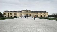 Schönbrunn palace Vienna vista desde el jardin