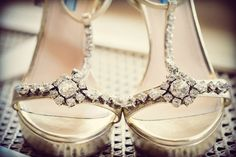 Bridal Shoes  - PHOTO SOURCE • JMM PHOTOGRAPHY | Featured on WedLoft