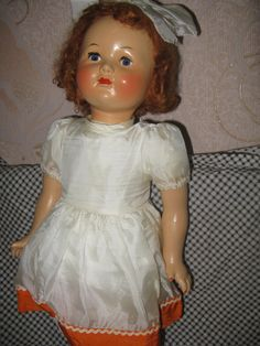 Кукла прессованные опилки №2