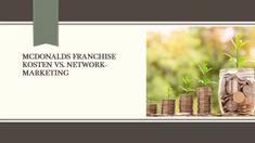 McDonalds #Franchise Kosten vs. Network-Marketing 📈 #mlm #networkmarketing