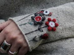 Woolly embellishments for the coming year , hope 2019 keeps you feeling warm and woolly inside followers