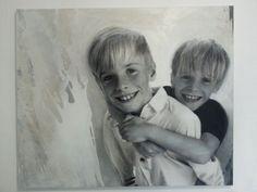 portrait brothers acrylic 2014