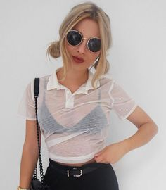 New Fashion Women T Shirt Summer Loose Top Short Sleeve Ladies Casual Tops Hollow Out Transparent Women Clothes-in T-Shirts from Women's Clothing & Accessories on Aliexpress.com   Alibaba Group