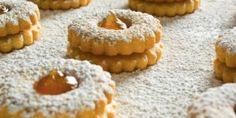 Μπισκοτάκια γεμιστά με μαρμελάδα Sable Recipe, Greek Sweets, Cheesecake Brownies, Sweet Pastries, No Bake Cookies, Baking Cookies, Greek Recipes, Christmas Treats, Food Porn