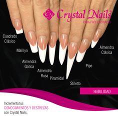 Arrow Nails, Nail Courses, Different Nail Shapes, Modern Nails, Nail Forms, Nail Time, Fire Nails, Great Nails, Acrylic Nail Art