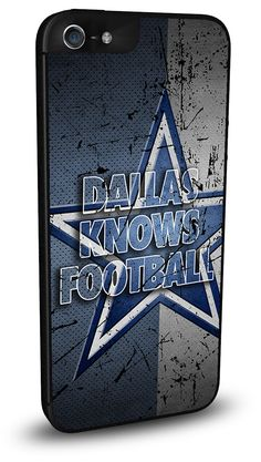 Dallas Cowboys Cell Phone Hard Case for iPhone 6, iPhone 6 Plus, iPhone 5/5s, iPhone SE, iPhone 4/4s or iPhone 5c