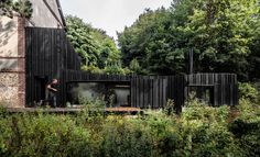 Black Wood House in Normandy by MARCHI ARCHITECTES