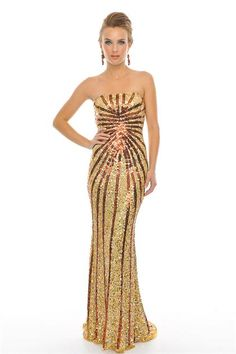 Precious Formals P8799 at Prom Dress Shop
