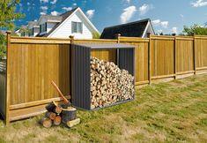 Plechový přístřešek na dřevo G21 WOH 136 se hodí na každou, zahradu, k domku nebo na chatu. Díky pozinkovanému materiálu se o dřevník nemusíte starat a jen ho plně využívat pro uskladnění dřeva. Zásobník vám poslouží během celého roku, kdy budete shromažďovat dřevo na topnou sezónu. Dřevo bude pod střechou a nebude do něj zatéka Bodybuilding, Bike Shed, Building A Shed, Building A Website, Shed Plans, Build Your Own, Firewood, Sheds, Woodworking