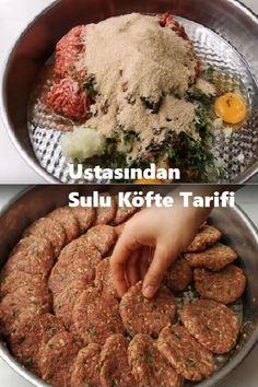 Look And Cook, Turkish Recipes, Food And Drink, Appetizers, Pizza, Yummy Food, Beef, Snacks, Cooking