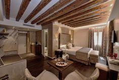 La renovación del #HotelRosaSalva de #Venecia le ha aportado un gran estilo y personalidad a cada una de sus habitaciones. Varias colecciones de porcelánico de Inalco han sido utilizadas. #Petra #Geo #Touché